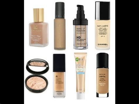 Best Foundations for Oily Skin Types   YouTube