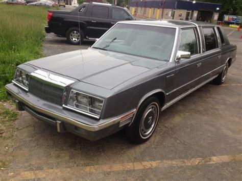 Chrysler Executive Limousine Chrysler Executive Limousine For Sale Photos Technical
