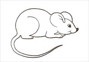 21 mouse templates crafts colouring pages free