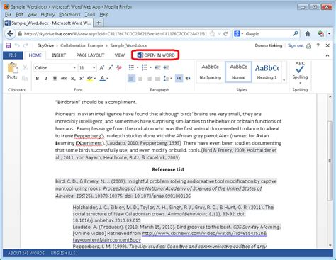 format footnotes google docs endnote cwyw and collaboration in office 365 sharepoint
