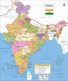 A Map Of India by India Map Pics