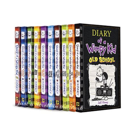 series the complete collection books diary of a wimpy kid complete series hardcover books 1 10