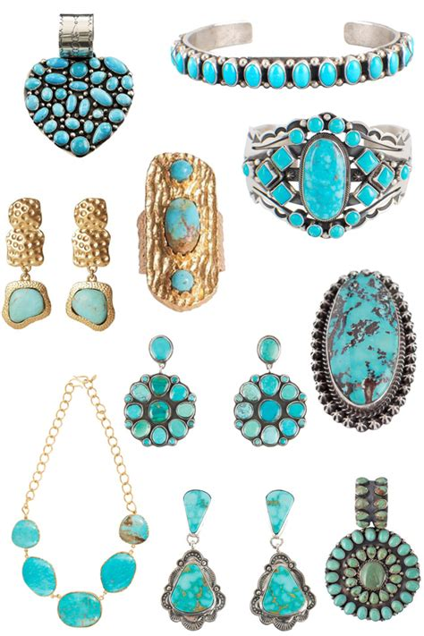 10 Pretty Pieces Of Jewelry 10 turquoise pieces to obsess horses heels