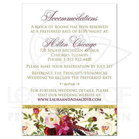 wedding website enclosure card template wedding website insert card thevillas co