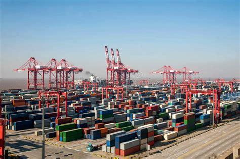 grande porto della cina torri di sollevamento porto di shanghai yangshan di