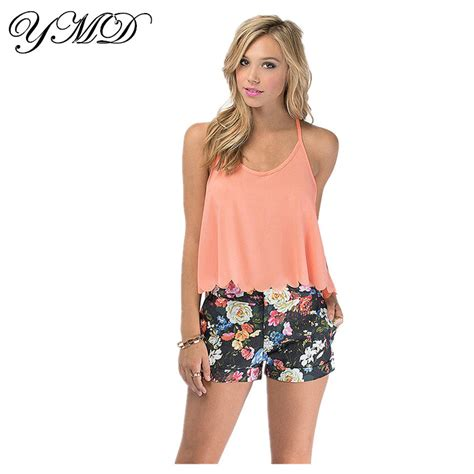 Tops Club by Wave Edge Chiffon Camisole Top Crop Tops Club