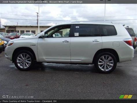 2008 Toyota Highlander Hybrid Limited 2008 Toyota Highlander Hybrid Limited 4wd In Blizzard