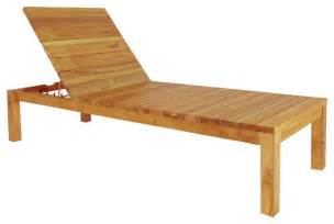 Wooden sun lounger modern outdoor chaise lounges outdoor chaise