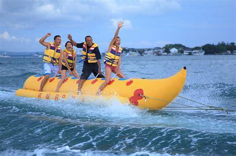 banana boat seminyak bali marine recreation water sports villa bugis