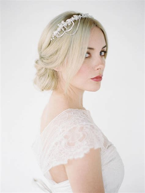 wedding hairstyles with accessories from percy
