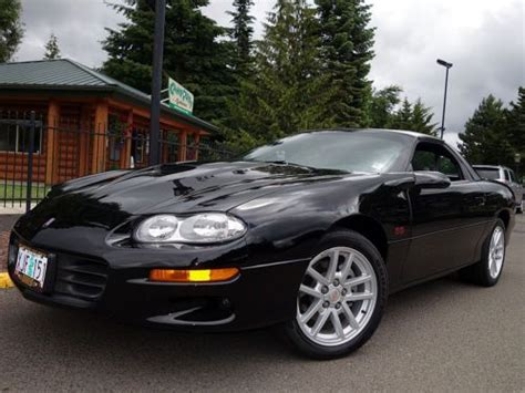 buy car manuals 2001 chevrolet camaro auto manual find used 2000 chevrolet camaro z28 ss coupe 1 owner 21k miles 6 speed manual in eugene