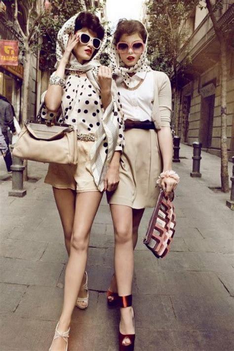 retro fashion with a modern twist
