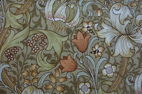 william morris upholstery fabric uk 2m vintage sanderson golden lily william morris heavy