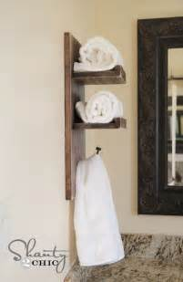 Bathroom Towel Holder Ideas by 15 Simple And Inexpensive Diy Towel Holder Ideas Top