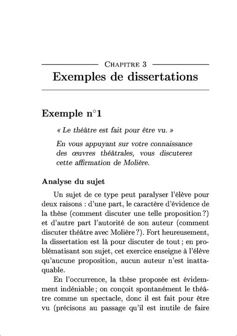 Exemple De Dissertation comment faire une dissertation en philo