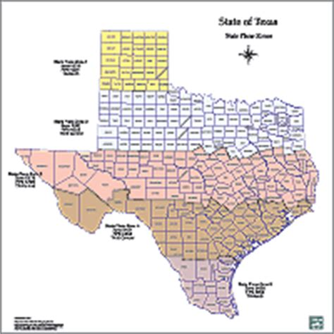 texas state plane map tpwd gis lab map downloads