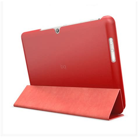 fundas para tablets bq bq funda duo edison 3 roja funda de tablet