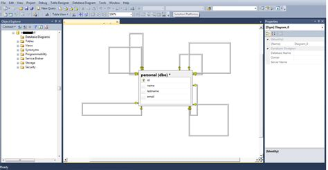 how to create a database diagram in sql server database diagrams with sql server management studio