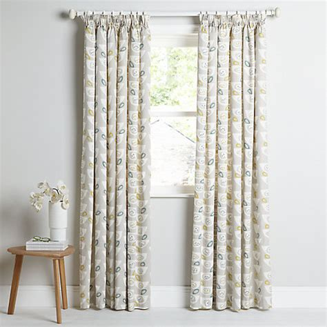 john lewis curtains pencil pleat buy john lewis seedheads lined pencil pleat curtains