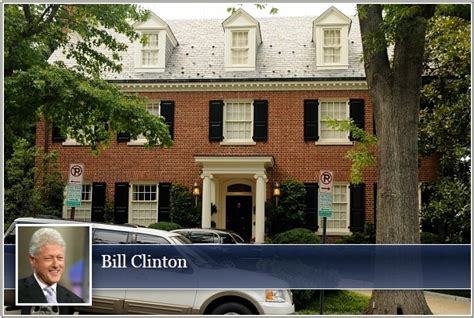 bill clinton home bill clinton s home in washington dc http bigwigdigs homes bill clinton bigwig digs