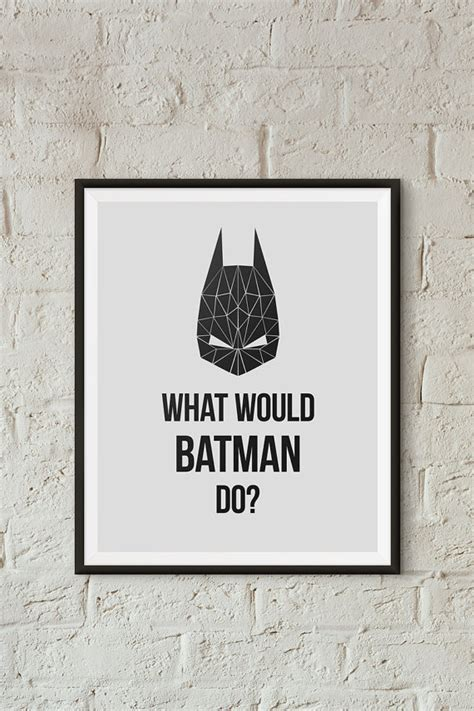 free printable batman wall art what would batman do superhero wall art superhero