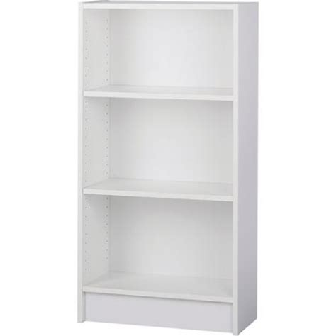 Narrow White Bookcase Narrow 2 Shelf Bookcase White Walmart