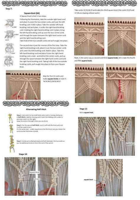 Free Macrame Patterns Pdf - pdf macrame curtain macrame curtain pdf