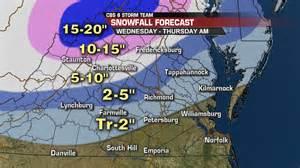 snow forecast map winter snowfall forecast wtvr