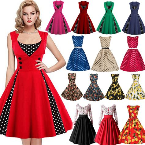 50s swing fashion retro 50s 60s rockabilly dress evening