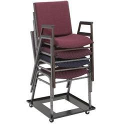 stacking church chair dolly stack chair dollies national seating dy81