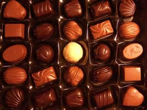 if your friends were a box of chocolates