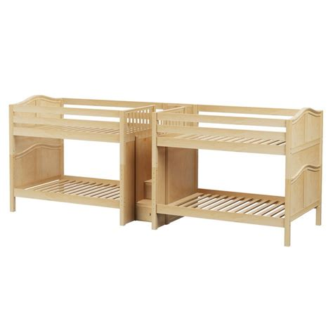 quadruple bunk bed maxtrixkids meta nc medium high quadruple bunk w