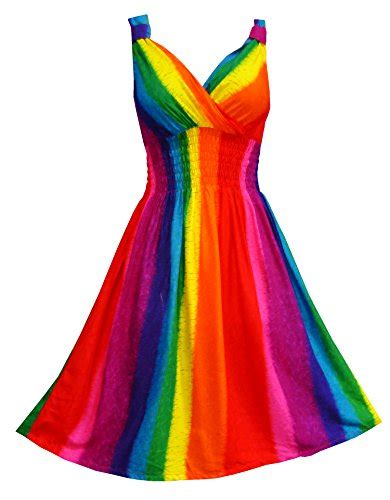 rainbow colored dresses rainbow color clothing