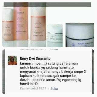 Krim Muka Jafra testimoni jafra jafra herbal atasi berbagai masalah kulit