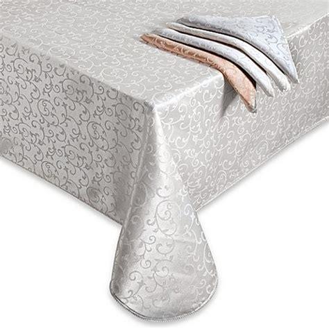 lenox opal innocence table linens lenox 174 opal innocence oblong tablecloth bed bath beyond