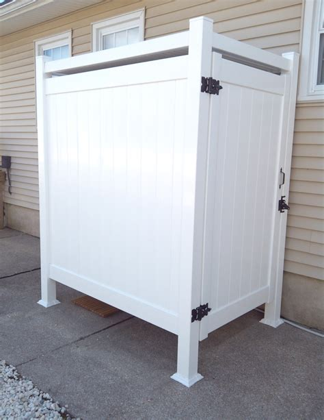 enclosed outdoor shower outdoor shower stalls pictures to pin on pinsdaddy