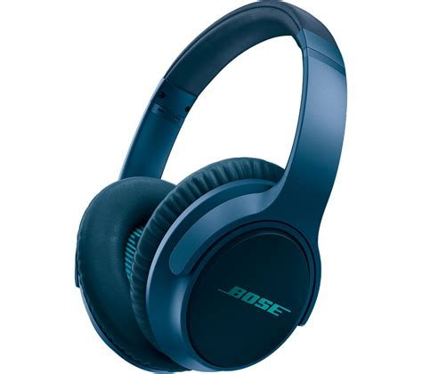 Headset Blue buy bose soundtrue ii headphones navy blue free delivery currys
