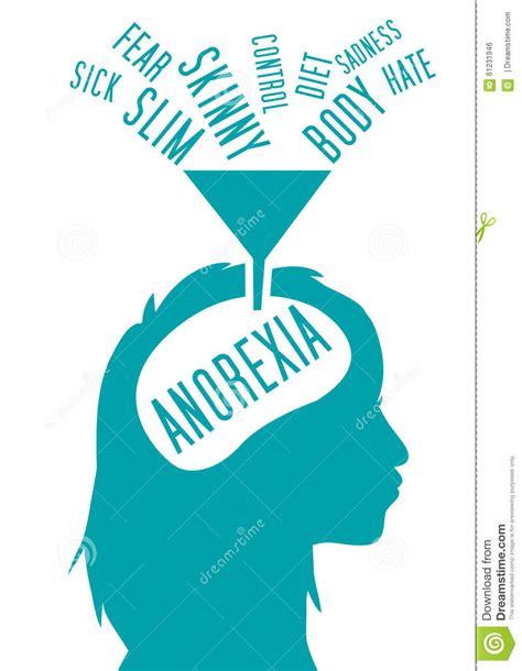 Stock United Healthcare Anorexia Nervosa Stock Illustration Image 61231946