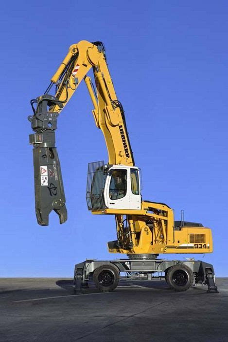 liebherr material handler    liebherr construction heavy equipment heavy construction