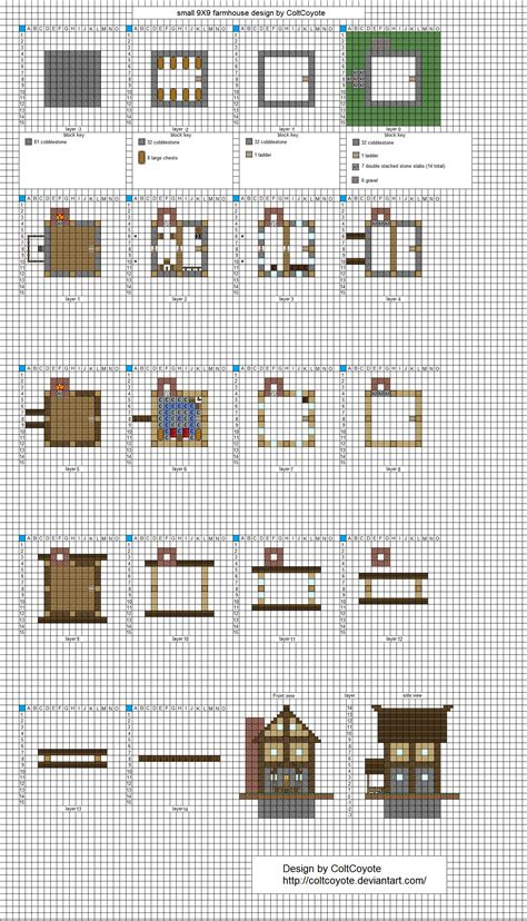 Minecraft House Plans Step By Step Minecraft House Blueprints Plans Story Floor Cape Modern Plan Minecraft House Floor