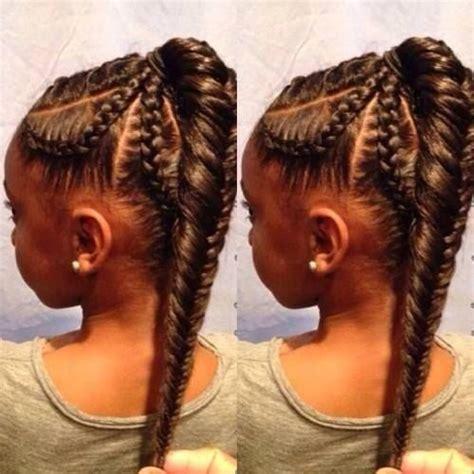 Plat Braid Styles | braids little girl hairstyles fish tail braid black