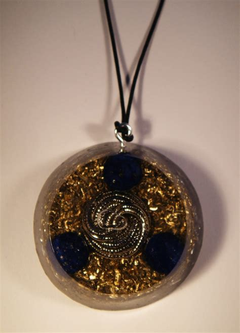 Orgonite Pendant lapis lazuli orgonite pendant orgone pendants