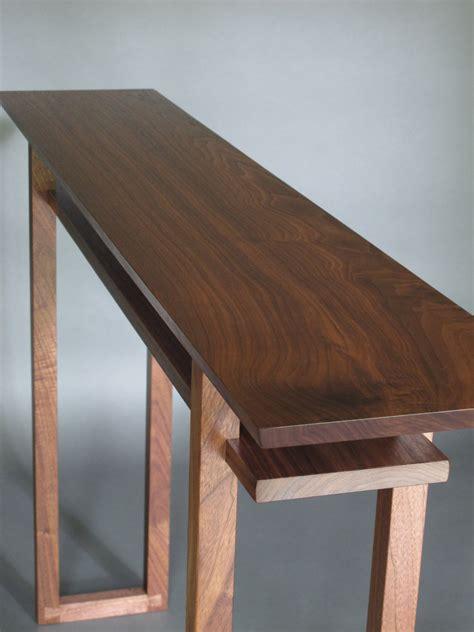 modern wood narrow hallway table narrow console table side