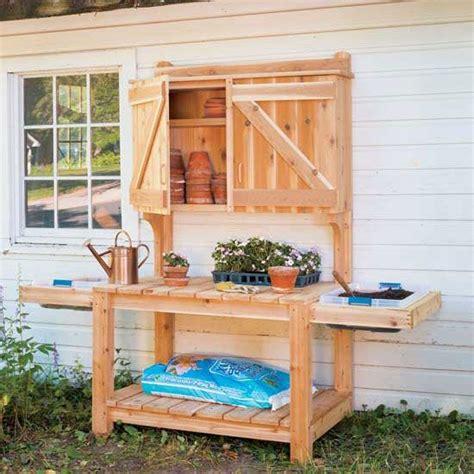 diy potting bench plans gardens potting bench plans and vegetables