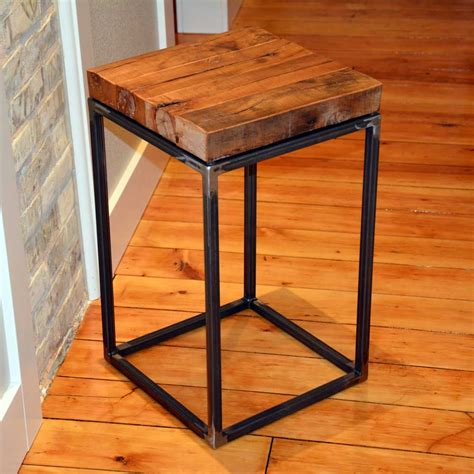 Small End Tables Pictured Here Is The American Country Small End Table With Clear Iron Finish And