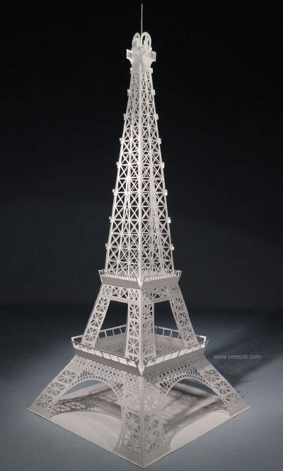 eiffel tower pop up card template pdf pop up eiffel tower this is amzing again the