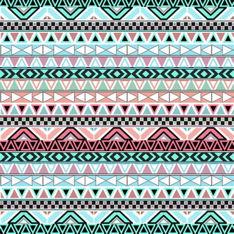 aztec pattern in pink pastel me andes teal pink cute abstract aztec pattern