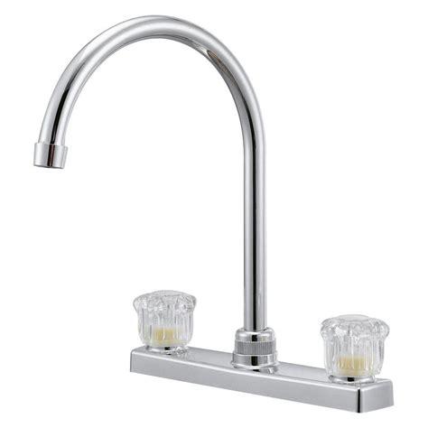 high arc kitchen faucet reviews relaqua 174 two handle kitchen high arc spout faucet