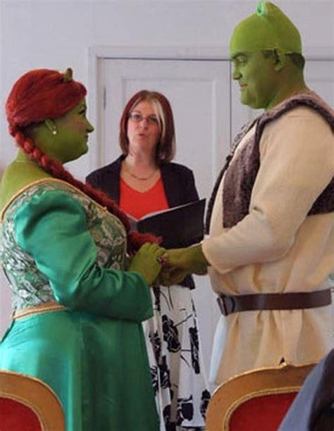 real life shrek wedding šreko vestuvės realybėje en 171 pasaulis kraustosi iš proto