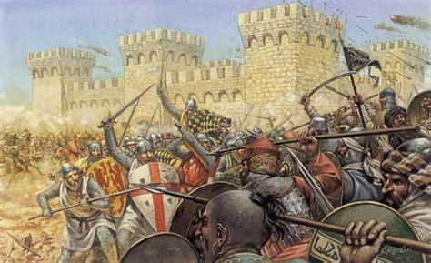 siege fortress chronologie des croisades par le chevalier et historien